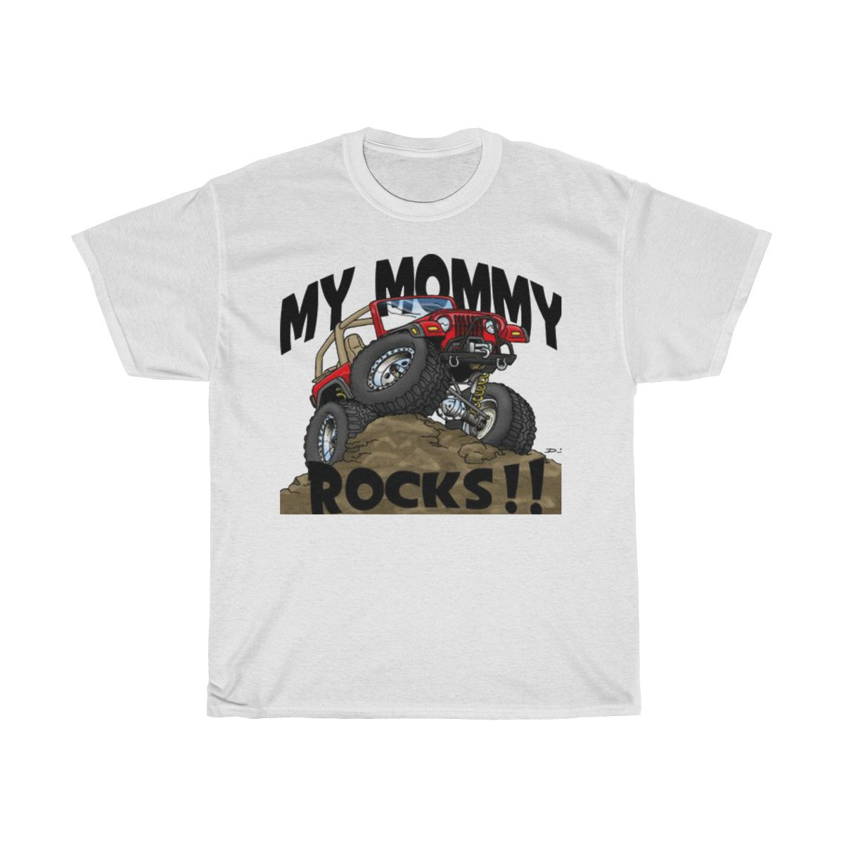 Jeep shirts accessories tee My mommy rocks Unisex