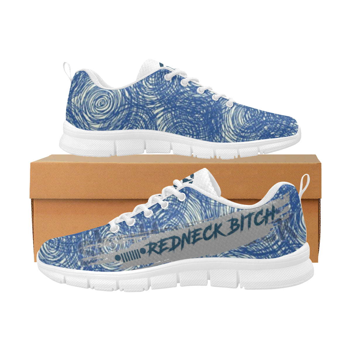 Redneck jeep Women's Breathable Running Shoes (Model 055).