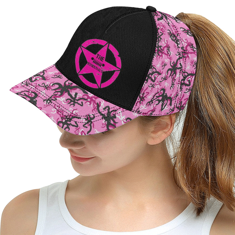 Pink deer Essentials All Over Print Snapback Hat D