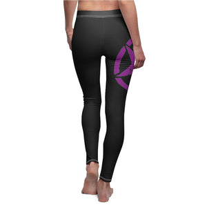 Purple jeep star Women's Cut & Sew Casual Leggings