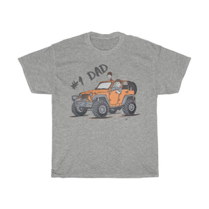 Jeep shirts accessories tee #1 Dad Unisex