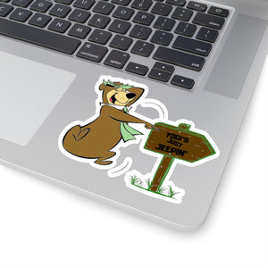 Yogi Kiss-Cut Stickers