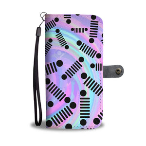 Jeep colorful wallet case
