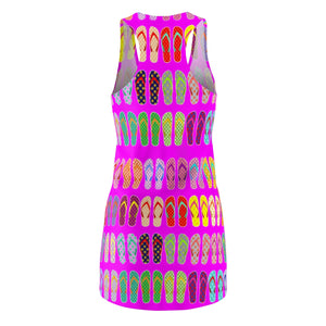 Flipflops summer dress Women's Cut & Sew Racerback Dress