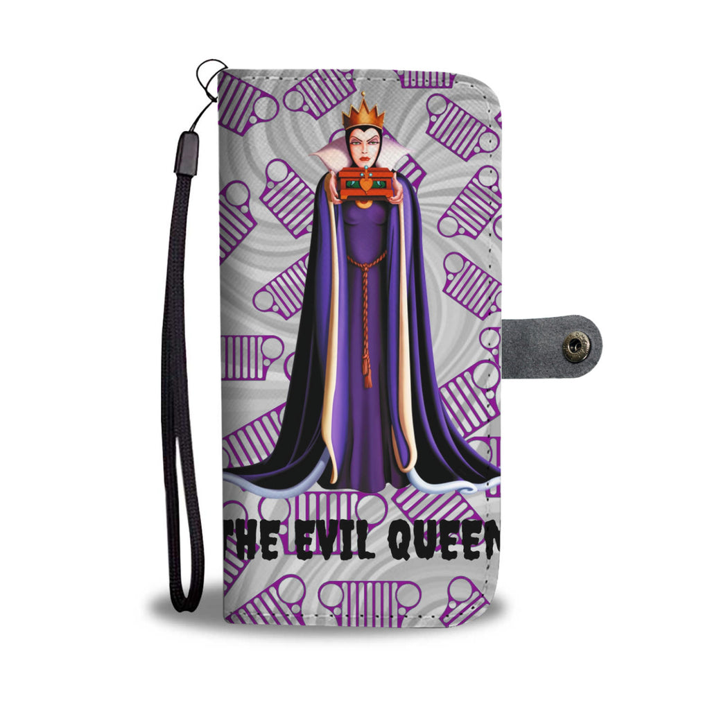 The Evil Queen Jeep Wallet Phone Case