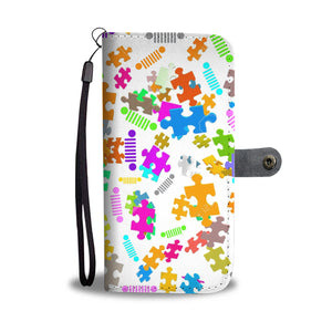 Autism jeep logo phone wallet