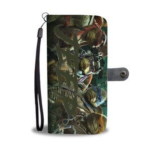 Jeep ninja turtles phone wallet case