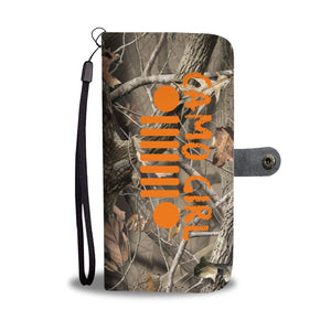 Camo girl jeep phone wallet