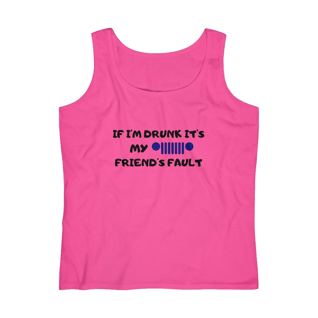 Friend's fault Women's Lightweight Tank Top