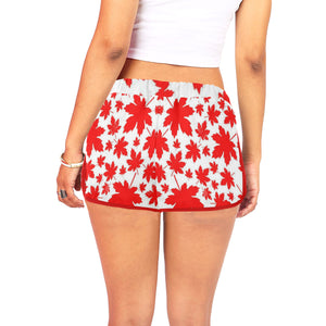 CJG RED Women's All Over Print Relaxed Shorts (Model L19)