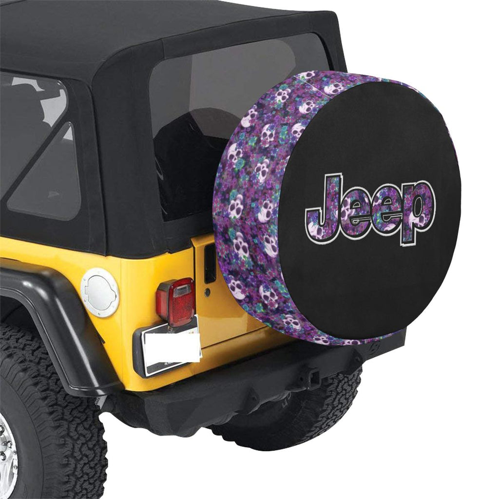 Custom Jeep accessories tire cover decal