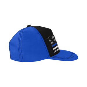 Back The Blue Essentials All Over Print Snapback Hat D.