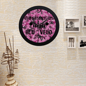 BLU_VELO Essentials Circular Plastic Wall clock