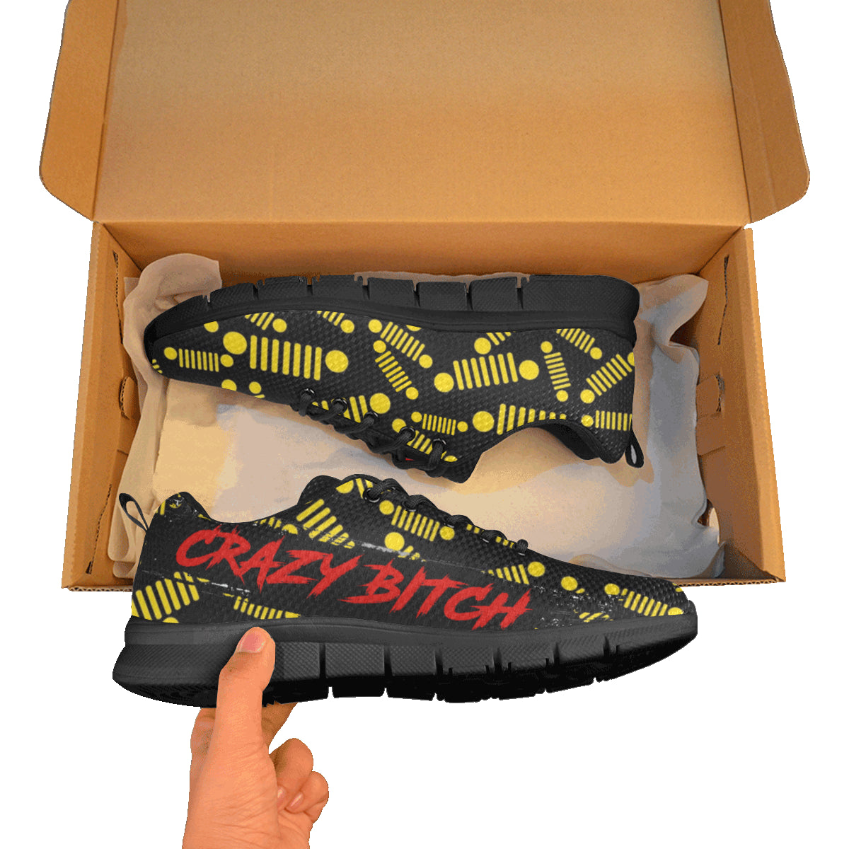 Craziness jeep Women's Breathable Running Shoes (Model 055).
