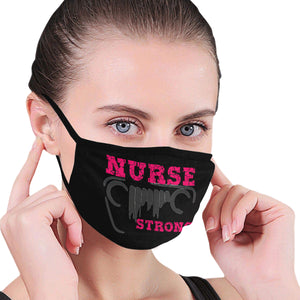 5 Cool custom unique jeep wrangler face mask covering nurse pink Mouth Mask (Pack of 5)