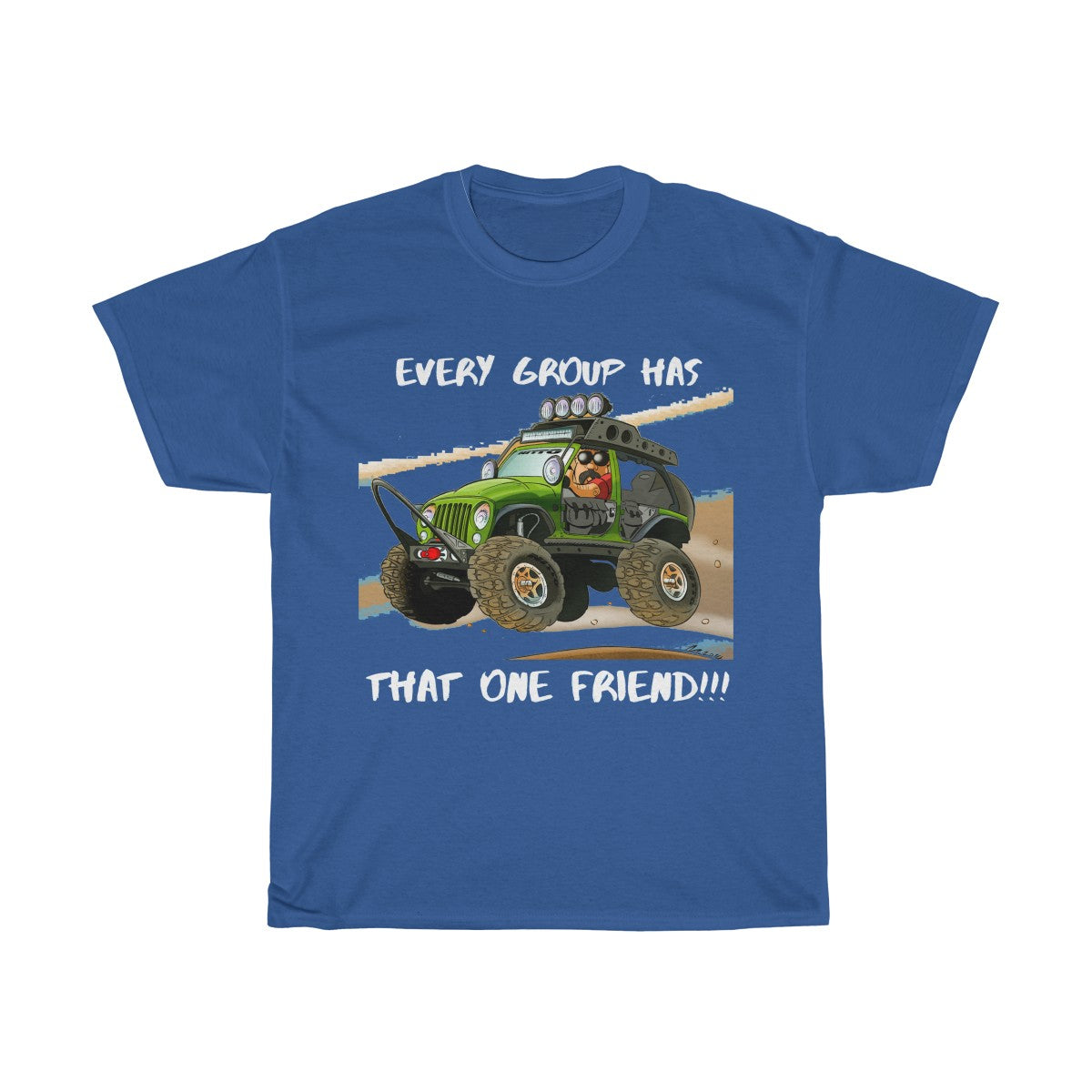 Jeep shirts accessories tee That one buddy Unisex