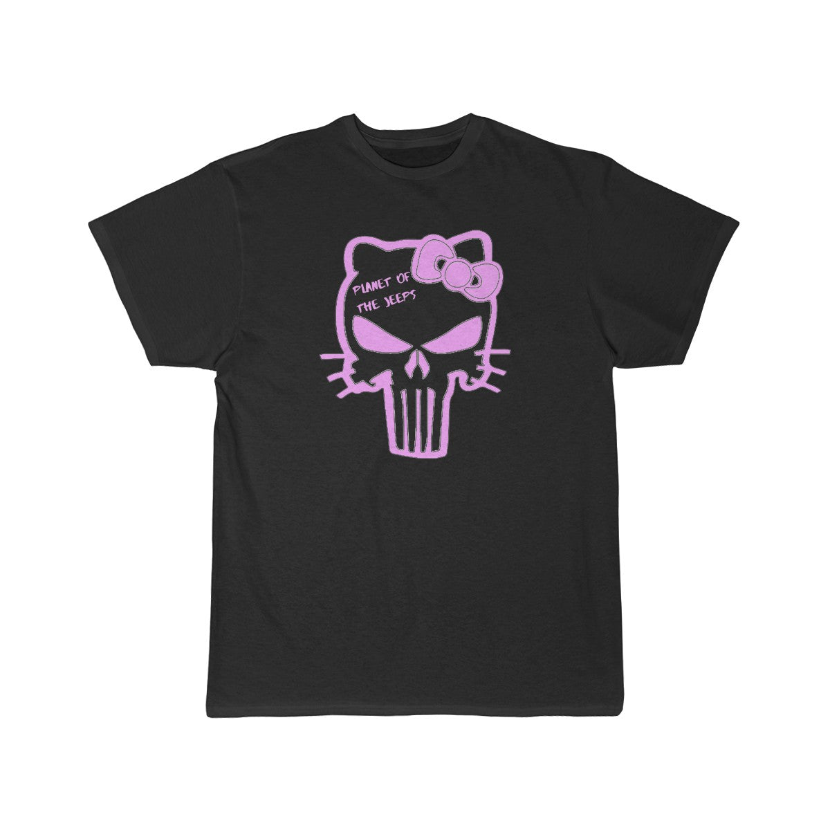 Pink Hello kitty Men's Short Sleeve Tee
