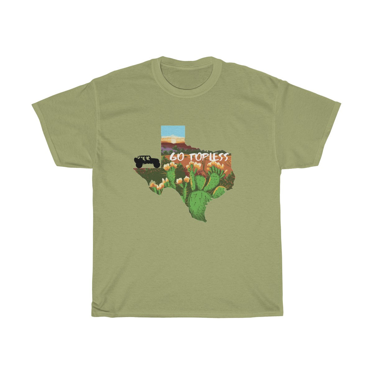 Just jeeping Unisex Heavy Cotton Tee