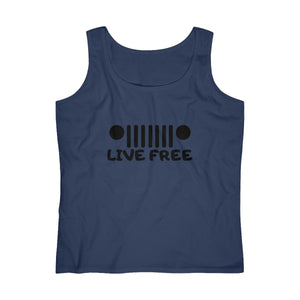 Live free Women's Lightweight Tank Top