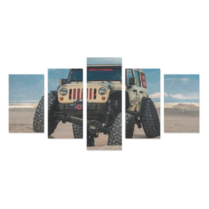 Flex dirt Canvas Print Sets C (No Frame).