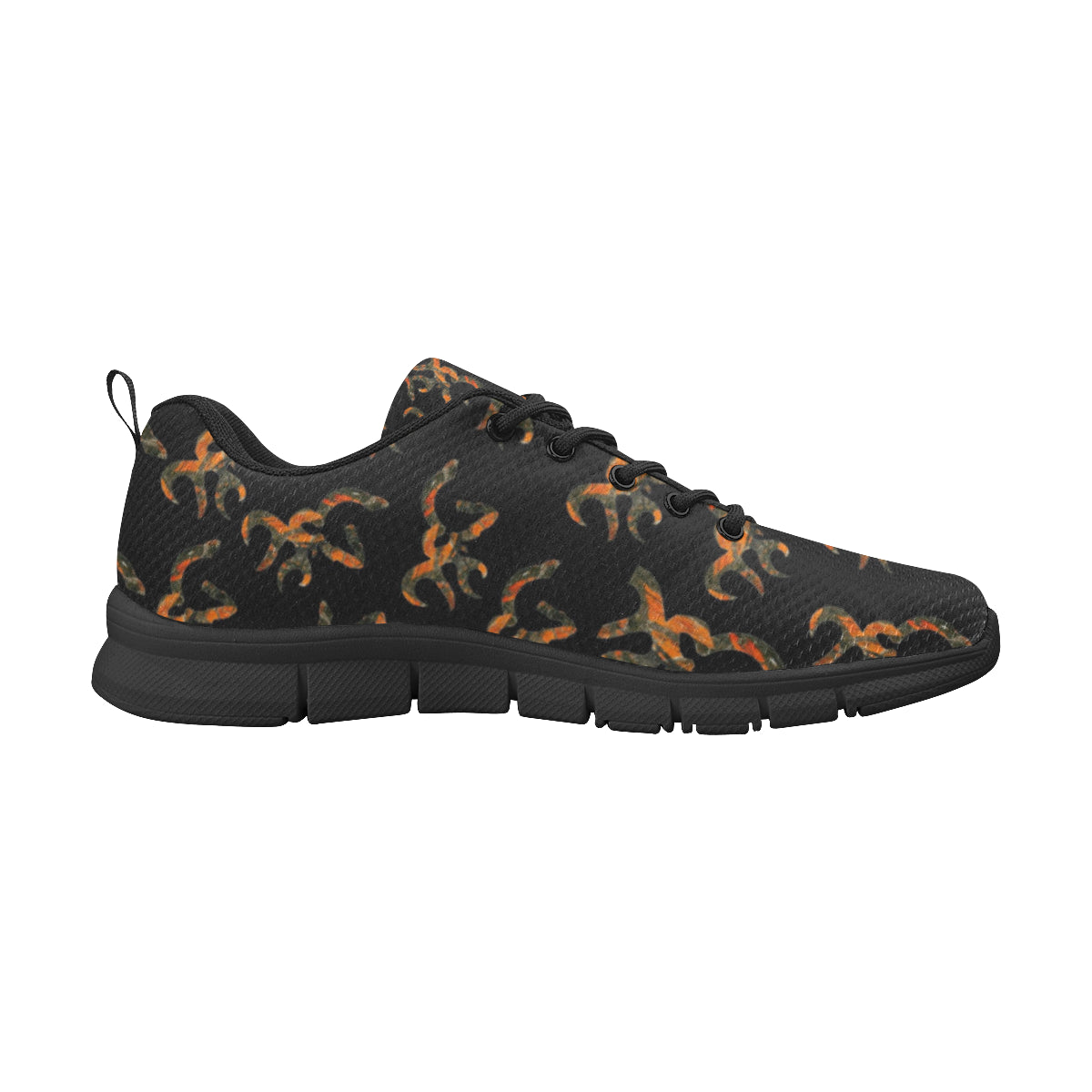 Orange camo girl jeep order size up plzz Women's Breathable Running Shoes (Model 055).
