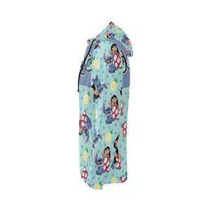 Chris Brent Lilo and stich jeep All Over Print Full Zip Hoodie for Women (Model H14)