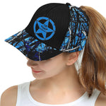 Blue Muddy Girl Essentials All Over Print Snapback Hat D
