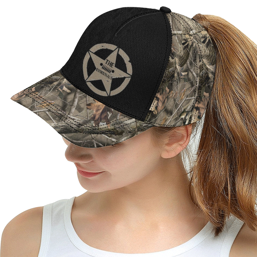 Realtree Essentials All Over Print Snapback Hat D.