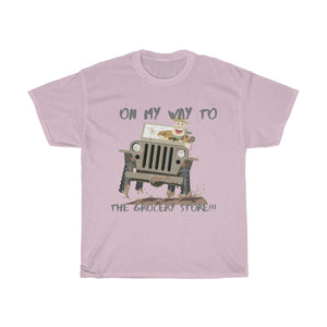 Jeep shirts accessories tee Going to the store Unisex