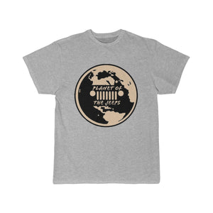 POTJ LOGO Tan Men's Short Sleeve Tee