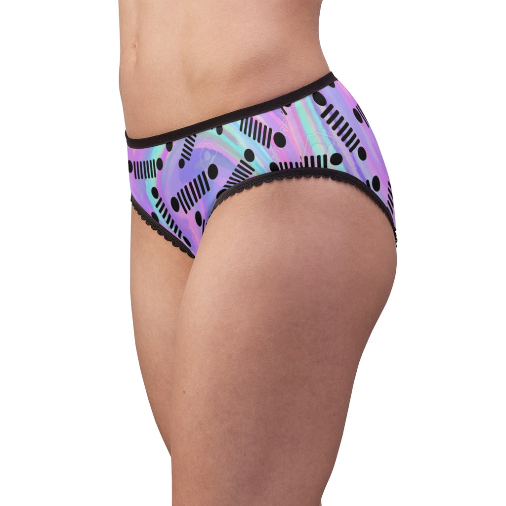 Purple jeep Women's Briefs