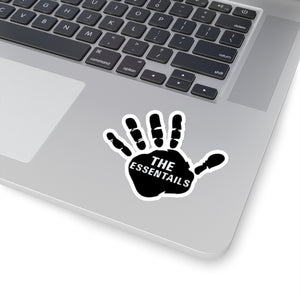 Hand wave Kiss-Cut Stickers