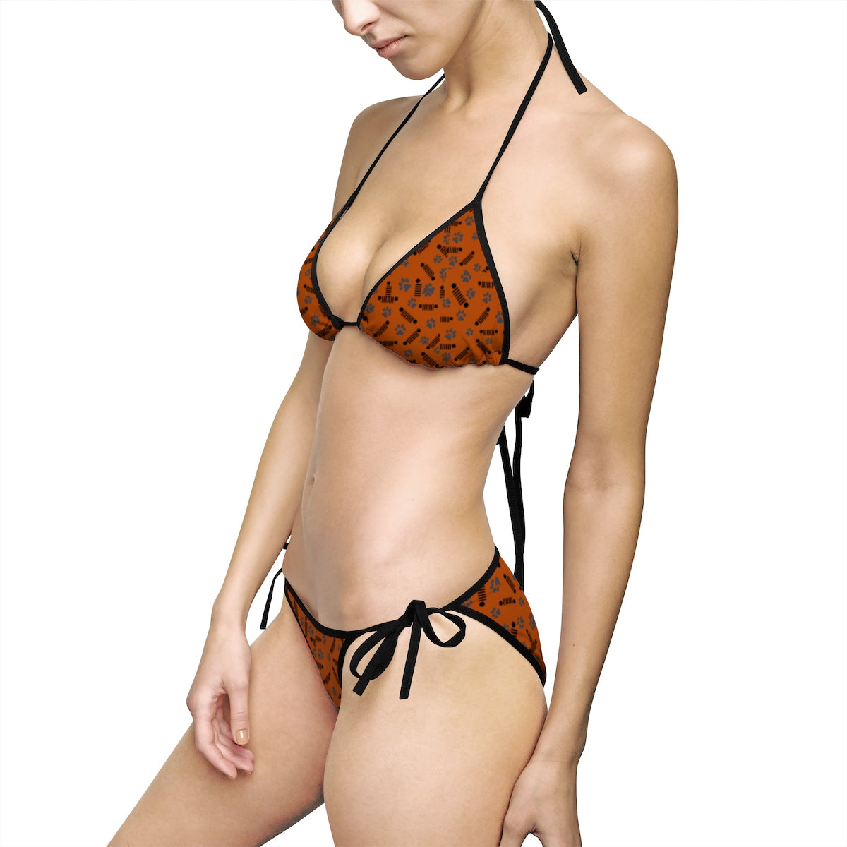 Copper jeep Women's Bikini Swimsuit