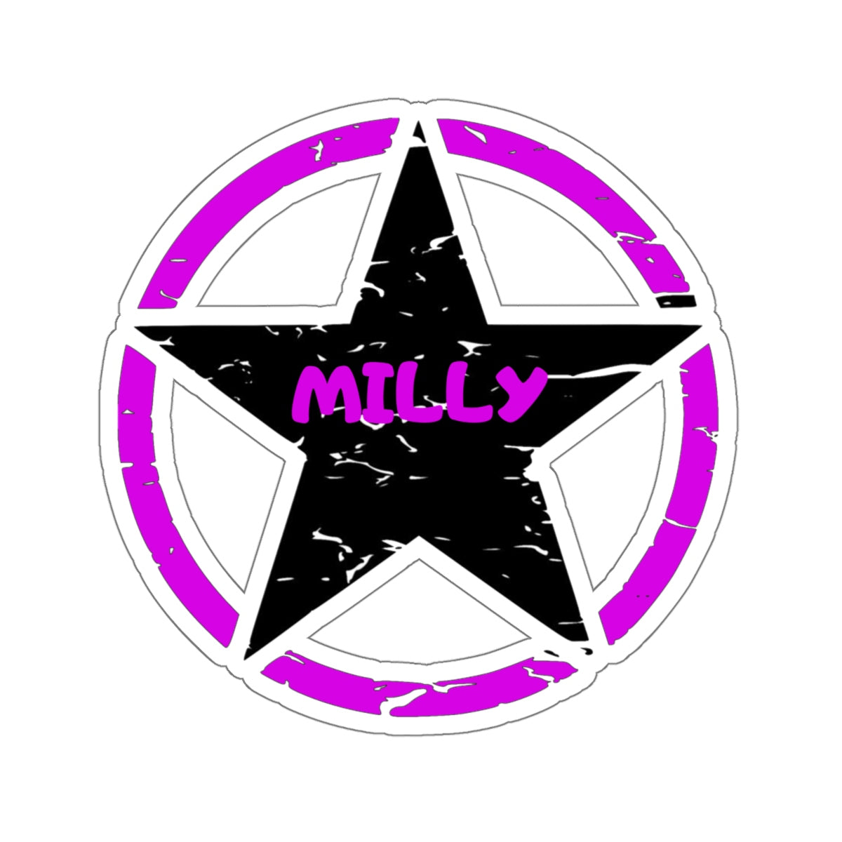Milly 2 Kiss-Cut Stickers
