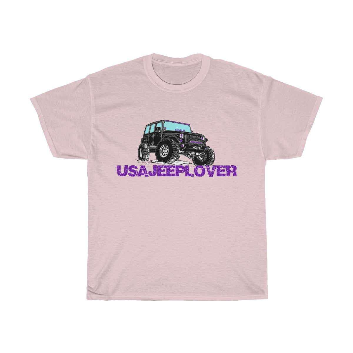 SCULLIE THE JEEPUnisex Heavy Cotton Tee