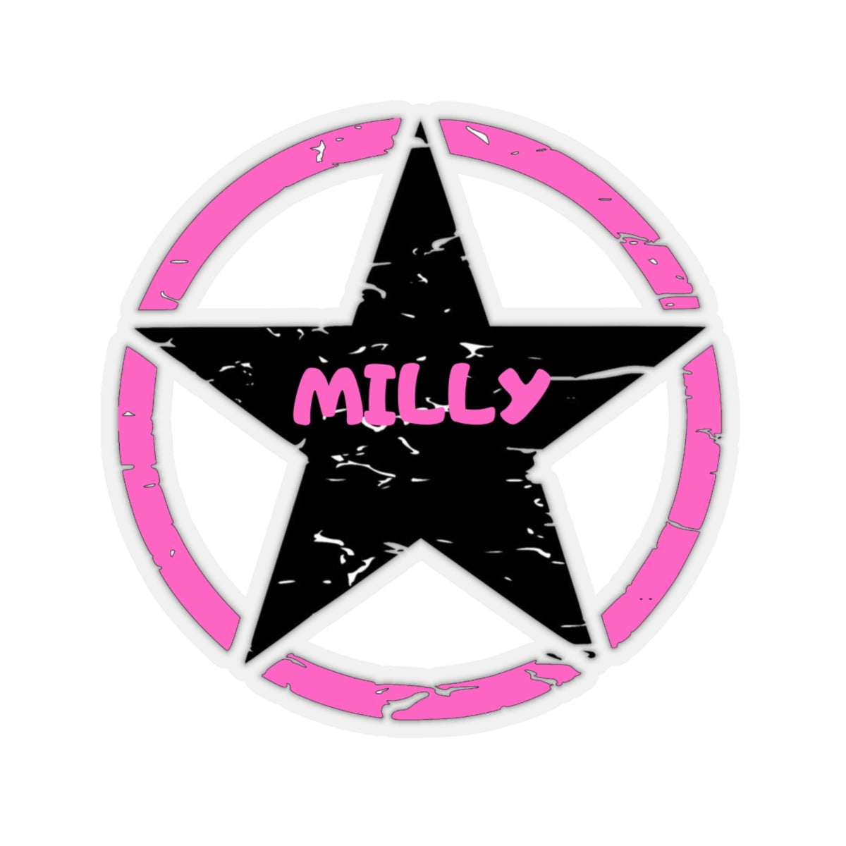Milly Kiss-Cut Stickers.