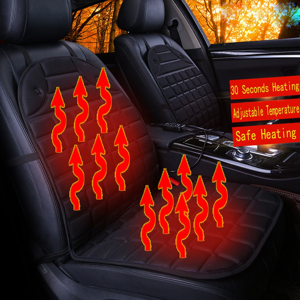 Jeep Seat Heater Cushion Warmer Cover Winter Heated Warm High Low Temperature 12V heated seat cover