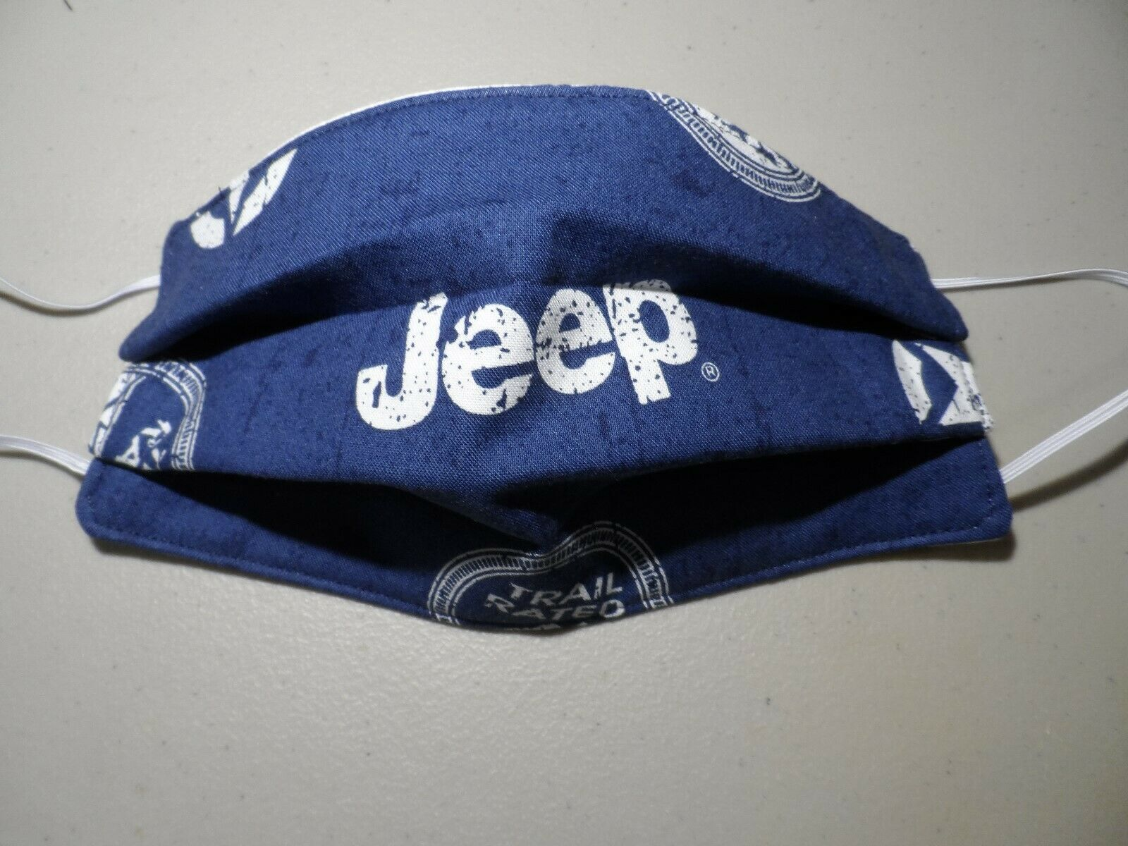Cool jeep face mask Navy Blue Jeep Adult Face Mask Made in the USA