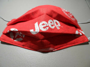 Cool jeep face mask Red Jeep Adult Face Mask Made in the USA
