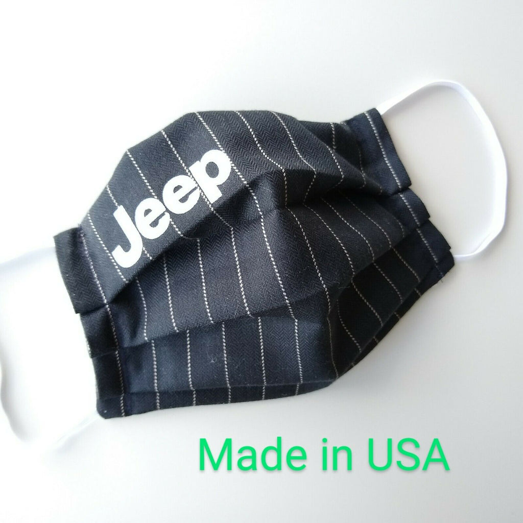 Cool jeep face mask Jeep Face Mask made in USA ready to ship Handmade cotton inner