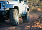 Jeep tire accessories Set of 5 Trail Hog A/T-4 LT 37X12.50R17 Load E 10 Ply AT All Terrain Tire.
