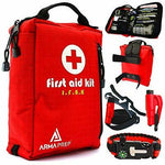 Compact First Aid Kit -IFAK Medical Kit,MOLLE & Survival Tools - First Aid Kit