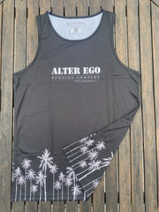 Technical Tank Top (Unisex) - Black Palms