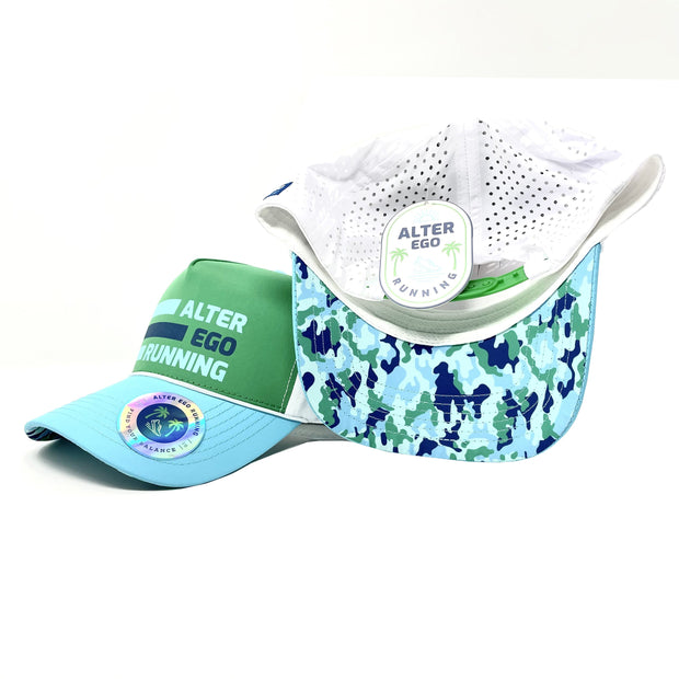 "The ""Cruiser"" (Good Vibes Island Green/Ocean Blue Camo 