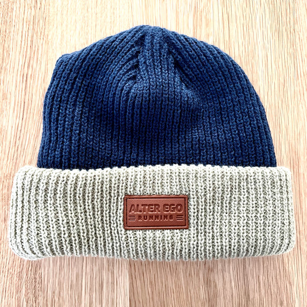 "The ""Snowbird"" Performance Beanie - Leather Logo"