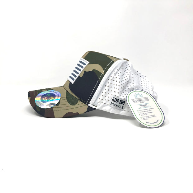 "The ""Cruiser"" (Green Camo/White Back 