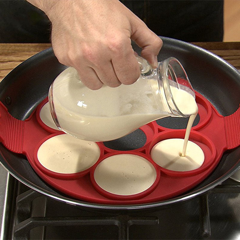 Moule x7 Blinis / Pancakes / Croquettes - Silicone