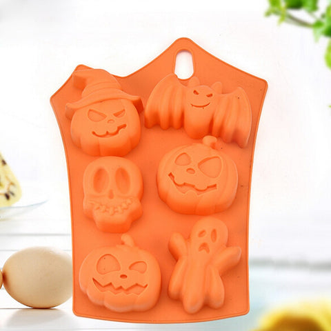 moule silicone halloween