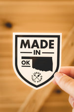 Made in OK Sticker