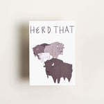 Herd That - Card